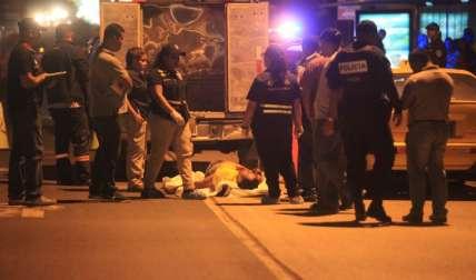 Escena del crimen en Tocumen.  Foto: Alexander Santamaría Crítica