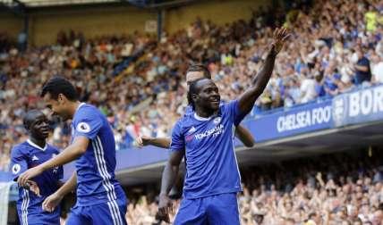Moses marcó por Chelsea. Foto AP
