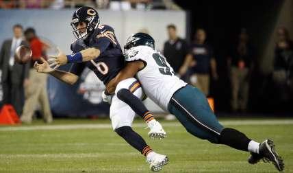 Jay Cutler, de los Bears de Chicago Foto AP