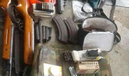 Parte de las municiones decomisadas durante el allanamiento. Foto José Vásquez Corresponsal