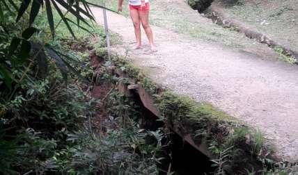 Puente en riesgo. Elena Valdez