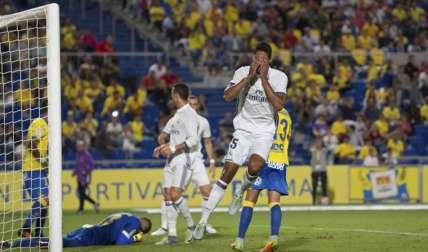 El Madrid dejó escapar la victoria en los últimos minutos. Foto AP