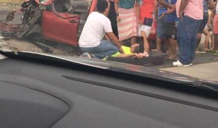Se investiga quién tuvo la culpa.  /  Foto: @TraficoCPanama