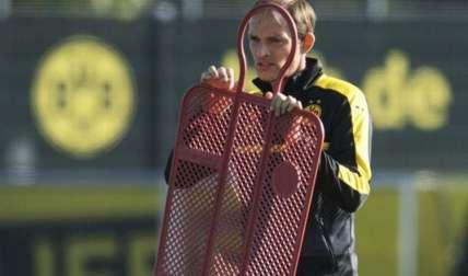 Thomas Tuchel,  entrenador del Borussia Dortmund. Foto EFE