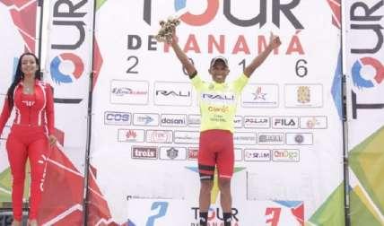 El chiricano Fernando Ureña, del equipo Rali-Claro-Huawei A, se convirtió en el nuevo líder de la clasificación general del Tour de Panamá, que corrió ayer su segunda etapa, de 96 kilómetros, entre Aguadulce-Parita-Aguadulce. Foto:Cortesía