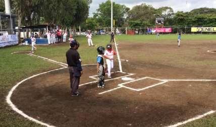 Panamá en el encuentro de ayer, jueves, frente a Argentina, rival al que despachó por paliza de 11 a 1. Foto: AP