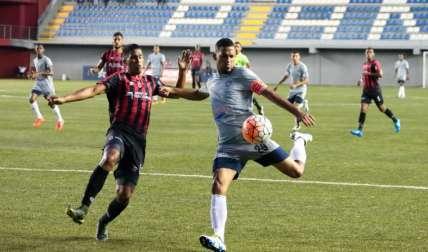 Anthony Basile, delantero del Atlético Nacional. Foto: LPF
