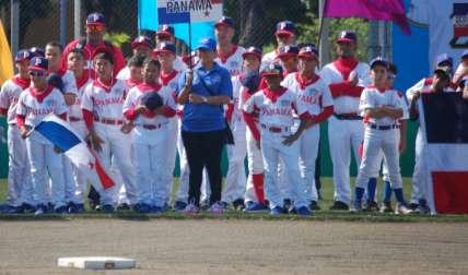 El equipo Sub-10 de Panamá ha tenido una buena participación. Foto: Fedebeis/ Cortesía