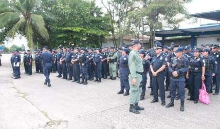 Miles de policías reforzaron la seguridad.  Foto Cortesía