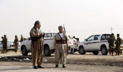 Las tropas buscan sacar al EI del área. FOTOAP