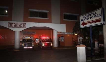 Sala de Urgencias del Hospital Santo Tomás.  Foto Archivo