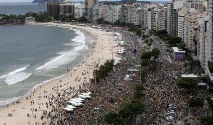 El detonante de esta nueva jornada de protestas fue un polémico proyecto de ley contra la corrupción.  /  Foto: EFE