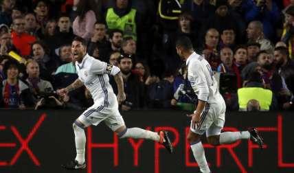El Real Madrid viene de igualar el clásico español. Foto: EFE