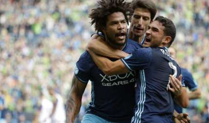 Román Torres defensa del Seattle Sounders Foto: AP