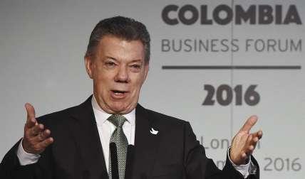 En la imagen, el presidente de Colombia, Juan Manuel Santos. EFE/Archivo