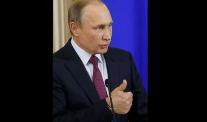 Presidente ruso, Vladímir Putin.  /  Foto: EFE