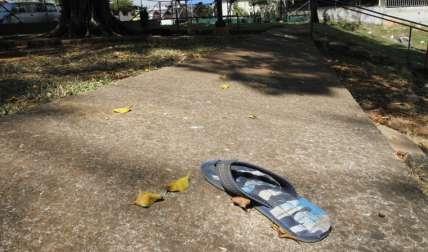 Escena de la balacera.  Foto Edwards Santos Crítica