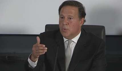 El presidente panameño, Juan Carlos Varela. EFE/Archivo