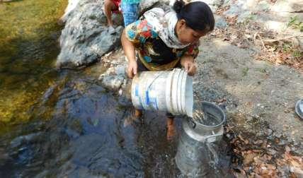 Un daño los ha dejado sin suministro de agua.  /  Foto: Zenaida Vásquez