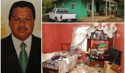 La víctima, Rodrigo Ríos Oda tenía 48 años. Los delincuentes lo asesinaron en su recámara. Fotos: Edwards Santos