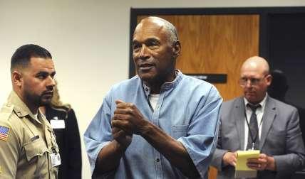 O.J. Simpson fue condenado por robo a mano armada. Foto: AP