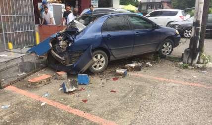 No se reportaron heridos.  /  Foto: @TraficoCpanama