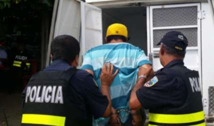 El sujeto deberá pagar la condena en la cárcel de Costa Rica. Foto Mayra Madrid Corresponsal