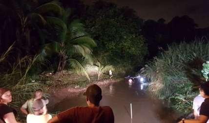 La búsqueda del cuerpo demoró más de 18 horas. Foto Raimundo Rivera Corresponsal