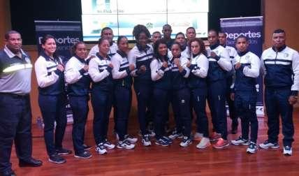 Atletas de la Policía Nacional que participarán en el torneo. Foto: Joel Isaac González