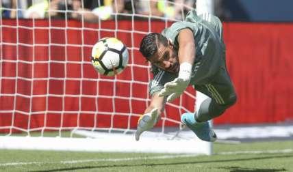 Francisco Casilla, segundo arquero del Real Madrid./ Foto AP