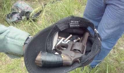 Arma recuperada.  Foto Archivo