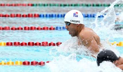 Edgar Crespo cerró su participación en el Campeonato Mundial de Natación. Foto: Cortesía