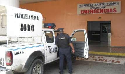 La señora está en el Hospital Santo Tomás.  Foto Archivo