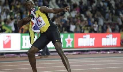 Usain Bolt se despide de las pistas. Foto: AP