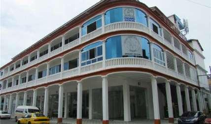 Sede del Organo Judicial en la Provincia de Colón donde se realizó la audiencia.  Foto Diómedez Sánchez Corresponsal