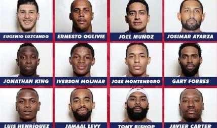 Estos los 12 guerreros que conforman la Selección. Foto: Fepaba