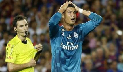 Cristiano Ronaldo, figura del conjunto blanco/ EFE