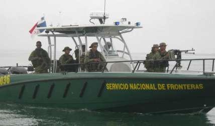 Las unidades fronterizas custodian las costas de la Comarca Guna Yala.  Foto Archivo