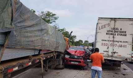 Se han registrado varios accidentes mortales en la vía, este año. Foto Raimundo Rivera Corresponsal