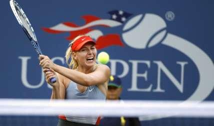 Maria Sharapova fue suspendida por 15 meses por dopaje, una sanción que expiró en abril del 2017. Foto: AP