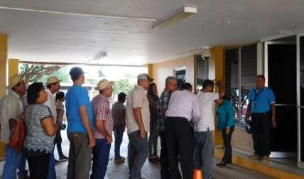 Ganaderos vigilantes participaron en la audiencia ayer. Foto Zenaida Vásquez Corresponsal