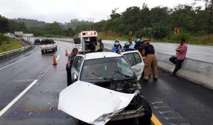 Los accidentes de tránsito se elevan en todo el país.