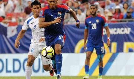 Ismael Díaz jugó la pasada Copa Oro con Panamá/ EFE