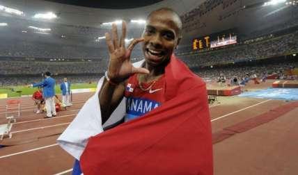 Irving Saladino, campeón olímpico en Beijing 2008/ AP