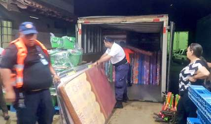 129 familias afectadas por las lluvias de ayer en Juan Díaz