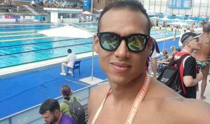 El nadador panameño Christopher Rojas. Foto: Cortesía