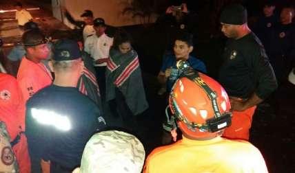 Estas son las personas que fueron rescatadas. Foto Tomada de la Policía Nacional
