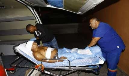 Elodio Morán Valdés recibió tres machetazos. Foto Alexander Santamaría Crítica