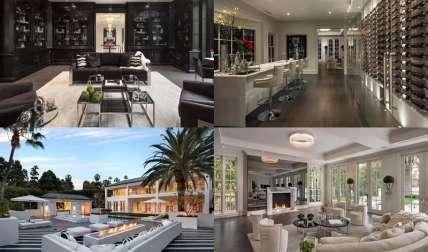 Algunos fotos de la nueva mansión del extravagante boxeador./ Foto Cortesía
