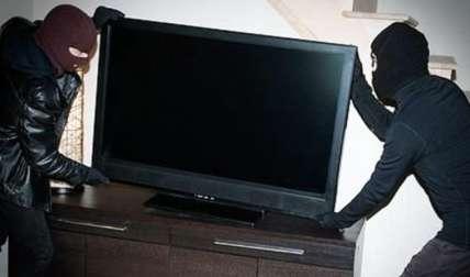 Cargaron con el televisor. Foto Ilustrativa